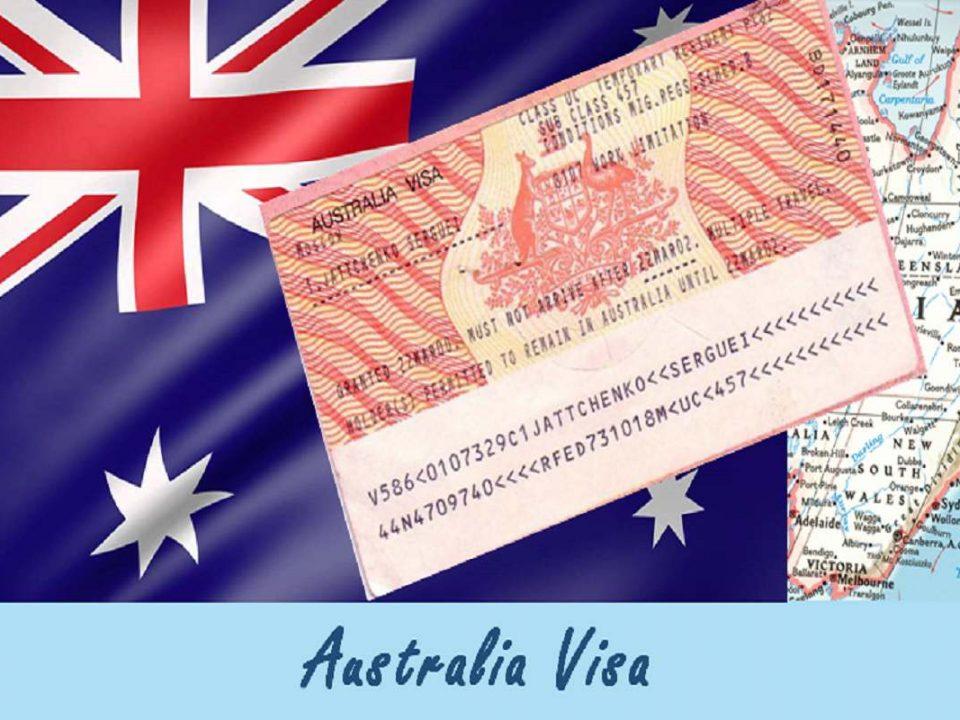 هزینه های ویزای استرالیا