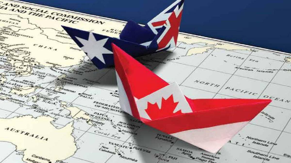 استرالیا یا کانادا مسئله این است