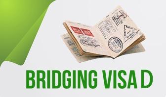 Bridging Visa D (BVD):