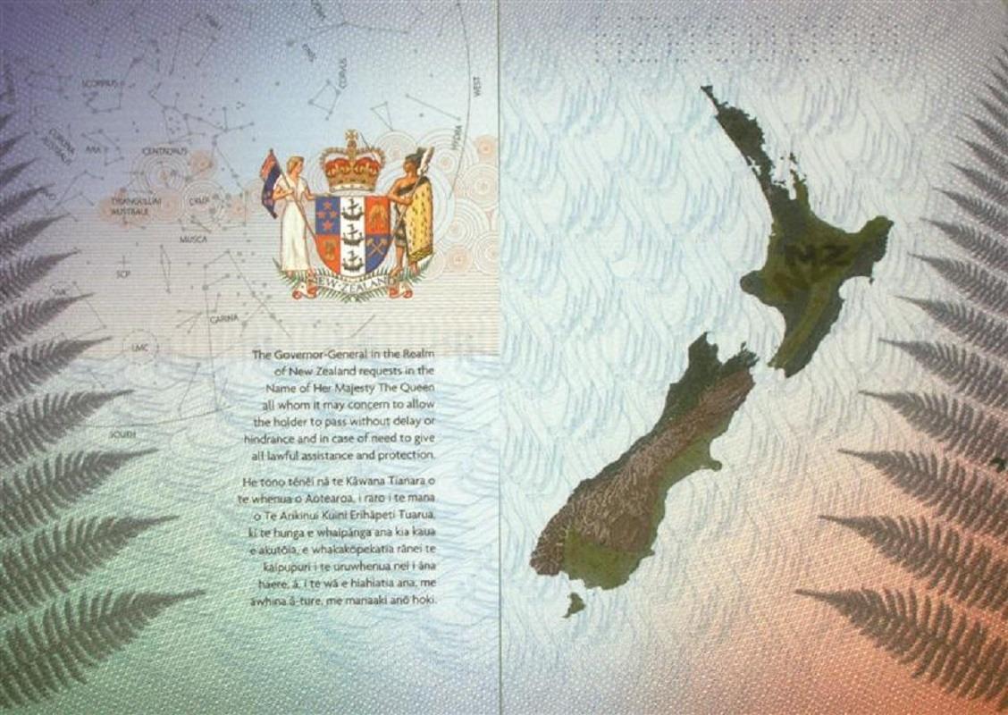 اعتبار پاسپورت نیوزیلند