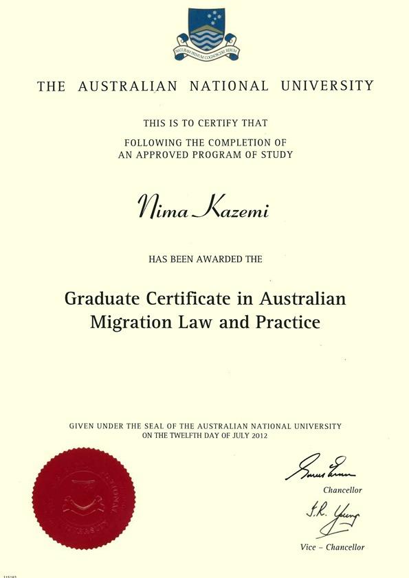 وکیل رسمی مهاجرت به نیوزلند