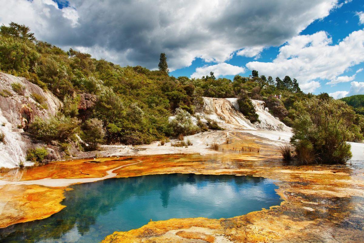 جاذبه های توریستی نیوزیلند