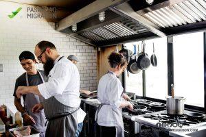 درآمد آشپزان در استرالیا
